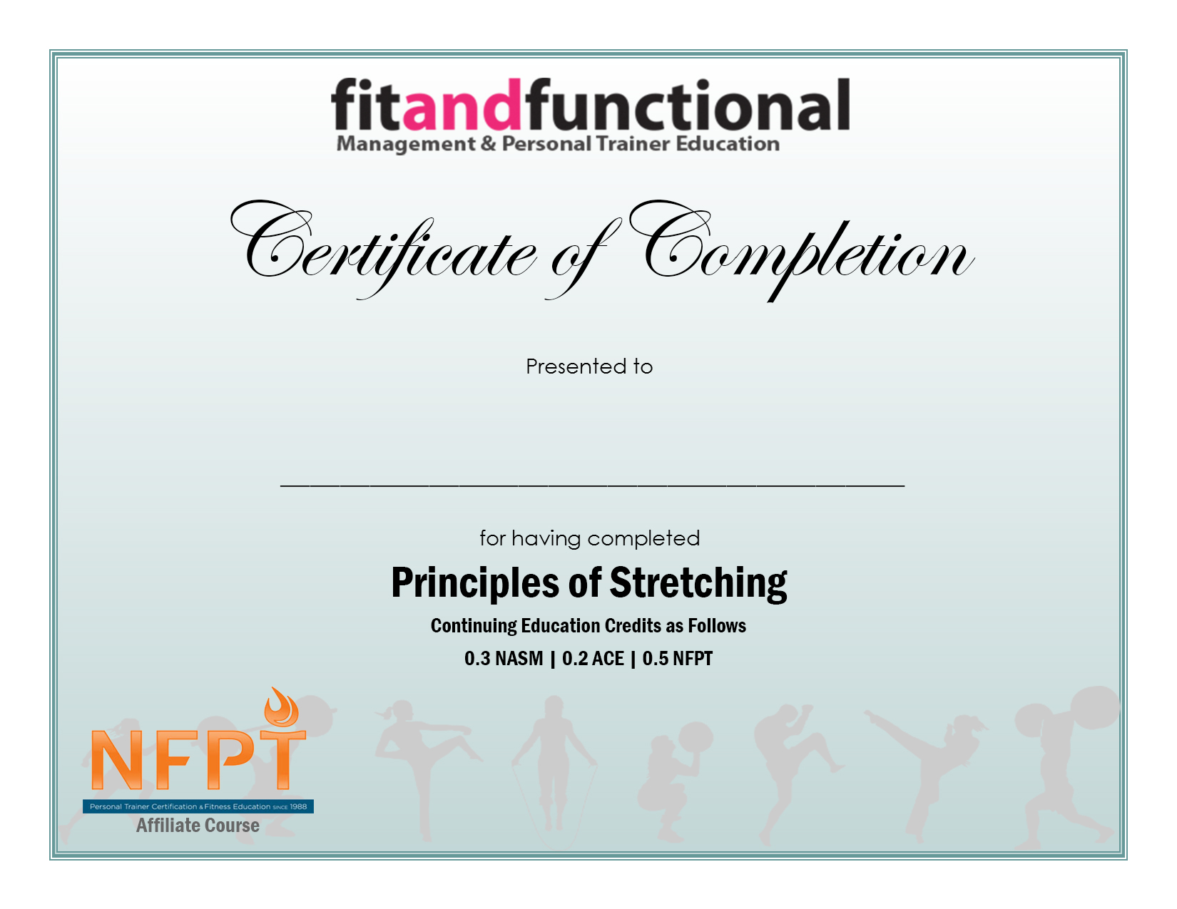 Principles Of Stretching Fit And Functional