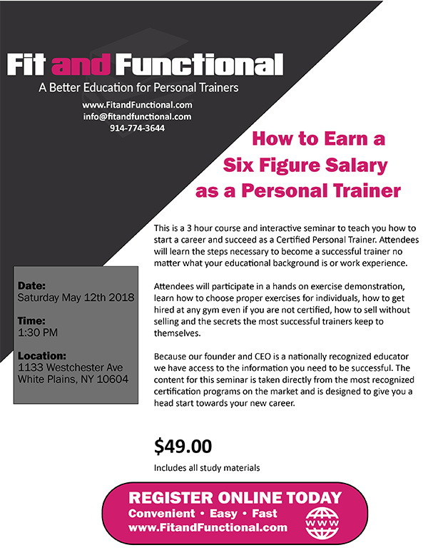 How to Become a Personal Trainer – Fit and Functional
